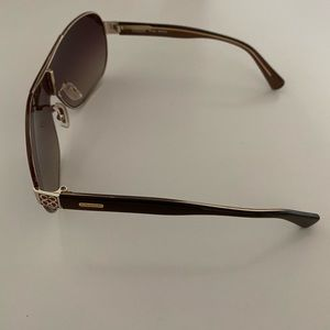 Coach Brown Sunglasses S1020 with coach emblem